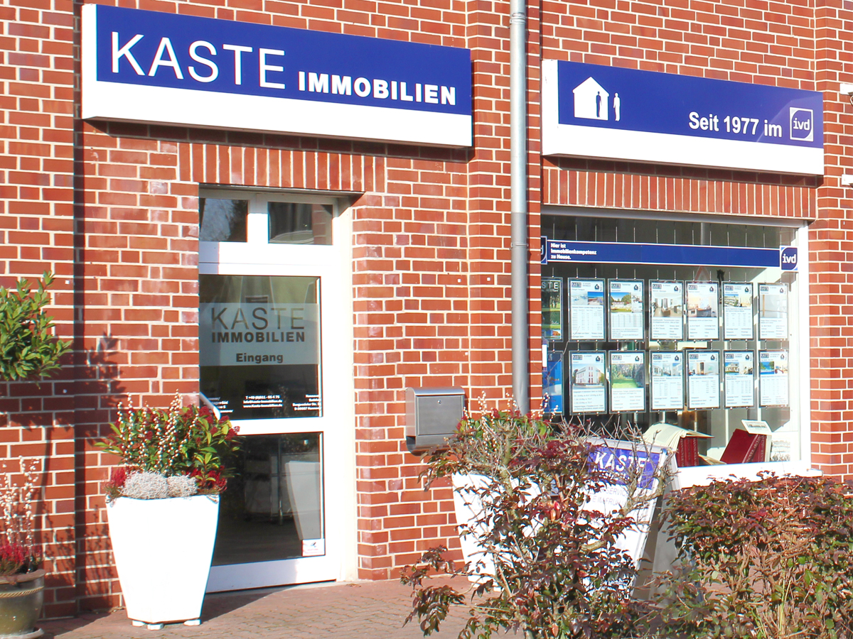 Kaste immobilien eingang